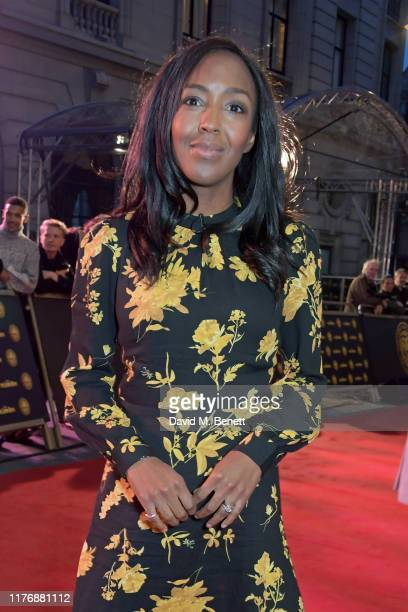 "Angellica Bell attends the 20th anniversary gala performance of ""The Lion King"" at The Lyceum Theatre on October 19, 2019 in London, England."