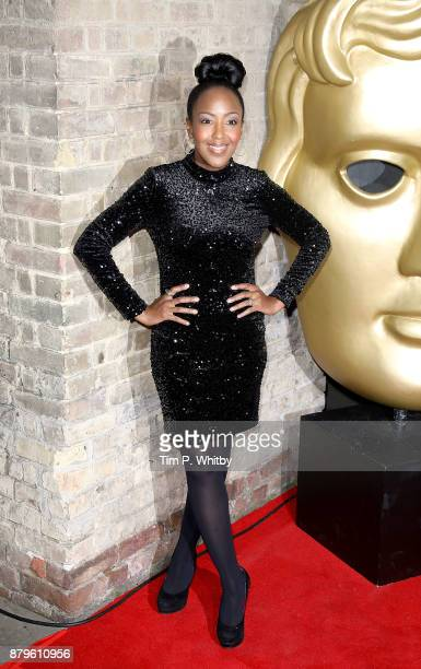Angellica Bell attends the BAFTA Children's awards at The Roundhouse on November 26, 2017 in London, England.