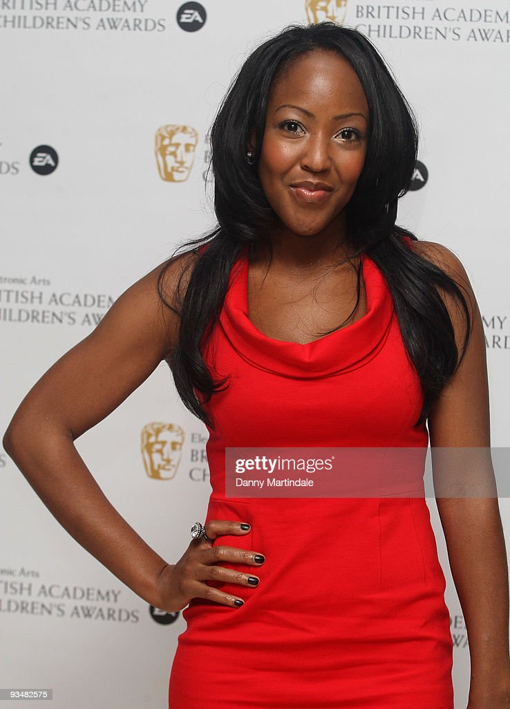Angellica Bell attends the EA British Academy Children's Awards 2009 at London Hilton on November 29, 2009 in London, England.