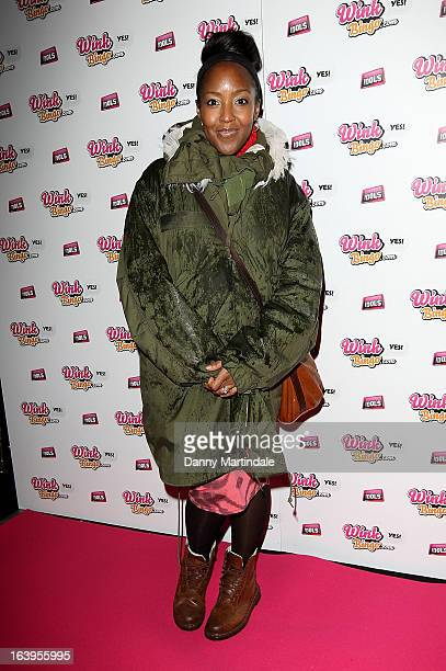 Angellica Bell attends the Wink Bingo Celebrity Female Take Over on March 18 2013 in London England
