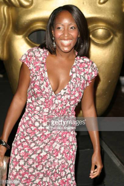 Angellica Bell during British Academy Children's Film & Television Awards 2005 at Hilton Hotel in London, Great Britain.