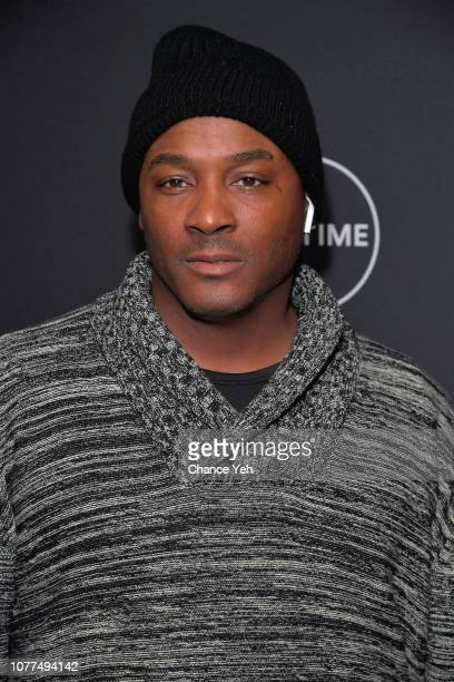 Angelo Clary attends Lifetime / NeueHouse Luminaries series 'Surviving R Kelly' documentary screening and conversation at Neuehouse NY on December 04...