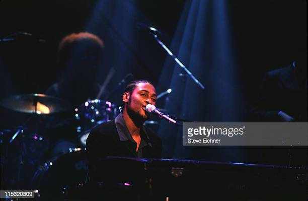 D'Angelo during Giorgio Armani Party at Lexington Armory in New York City New York United States
