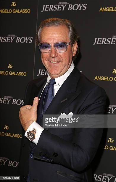 Angelo Galasso attends a special New York screening reception for 'Jersey Boys' hosted by Angelo Galasso at Angelo Galasso on June 2014 in New York...