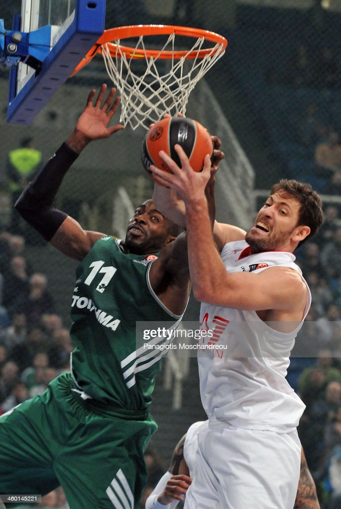 Panathinaikos Athens v EA7 Emporio Armani Milan - Turkish Airlines Euroleague Top 16
