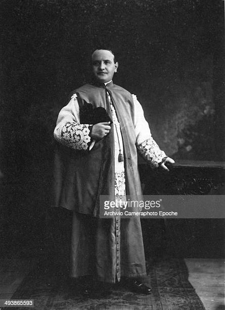 Angelo Giuseppe Roncalli who became Pope John XXIII