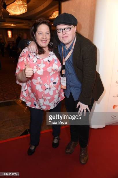 Angelo Kelly and his sister Kathy Kelly during the after show party of the television show 'Willkommen bei Carmen Nebel' on April 8 2017 in Magdeburg...