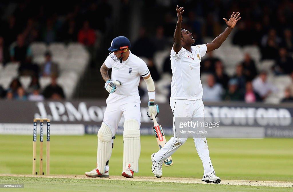 England v Sri Lanka: 3rd Investec Test - Day Four