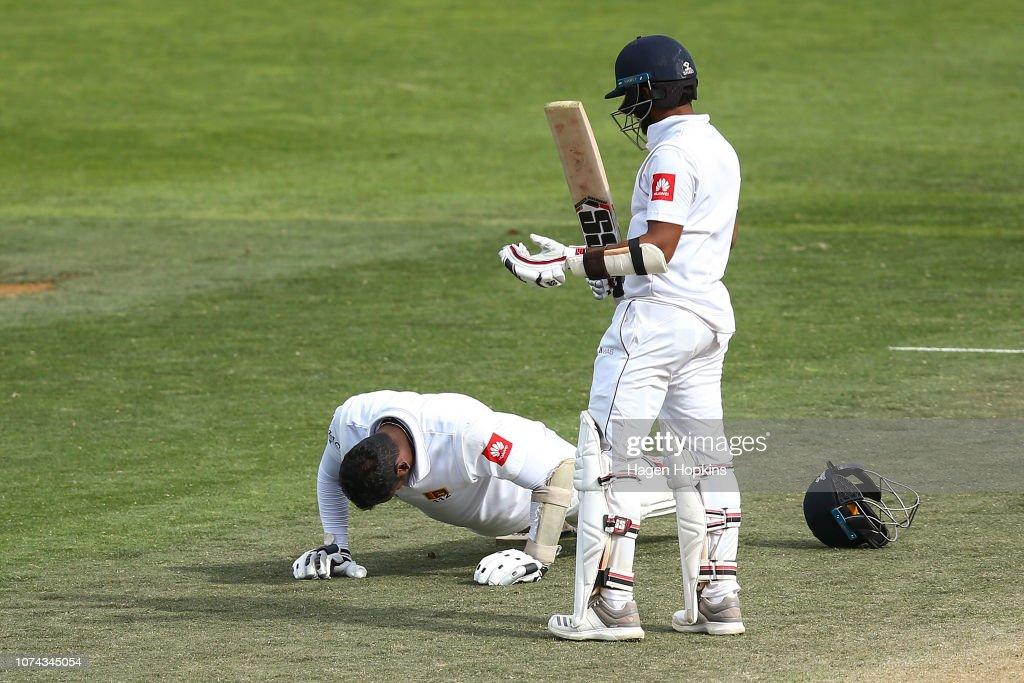 New Zealand v Sri Lanka - 1st Test: Day 4 : News Photo