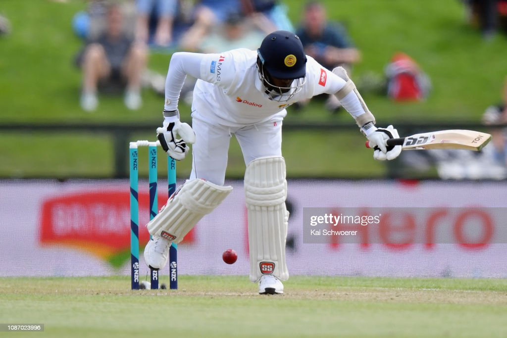 New Zealand v Sri Lanka - 2nd Test: Day 2 : News Photo