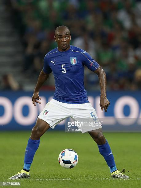 Angelo Ogbonna of Italy during the UEFA EURO 2016 Group E group stage match between Italy v Ireland at the Stade PierreMauroy on june 22 2016 in...