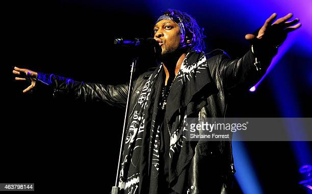 Angelo performs at O2 Apollo Manchester on February 18 2015 in Manchester England