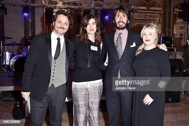 Angelo Pisani Silvia Valigi Nicolo Cavalchini and Katia Follesa attend the Charity Dancing Party For Haiti hosted by Fondazione Francesca Rava NPH...
