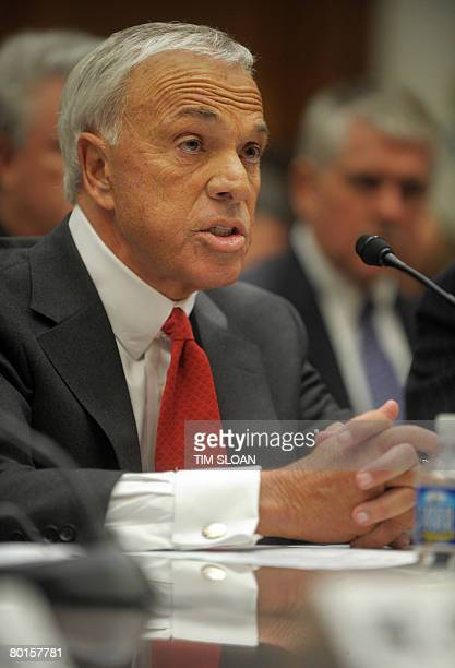 Angelo R Mozilo Founder and CEO Countrywide Financial Corporation testifies before the Committee on Oversight and Government Reform's hearing on 'CEO...