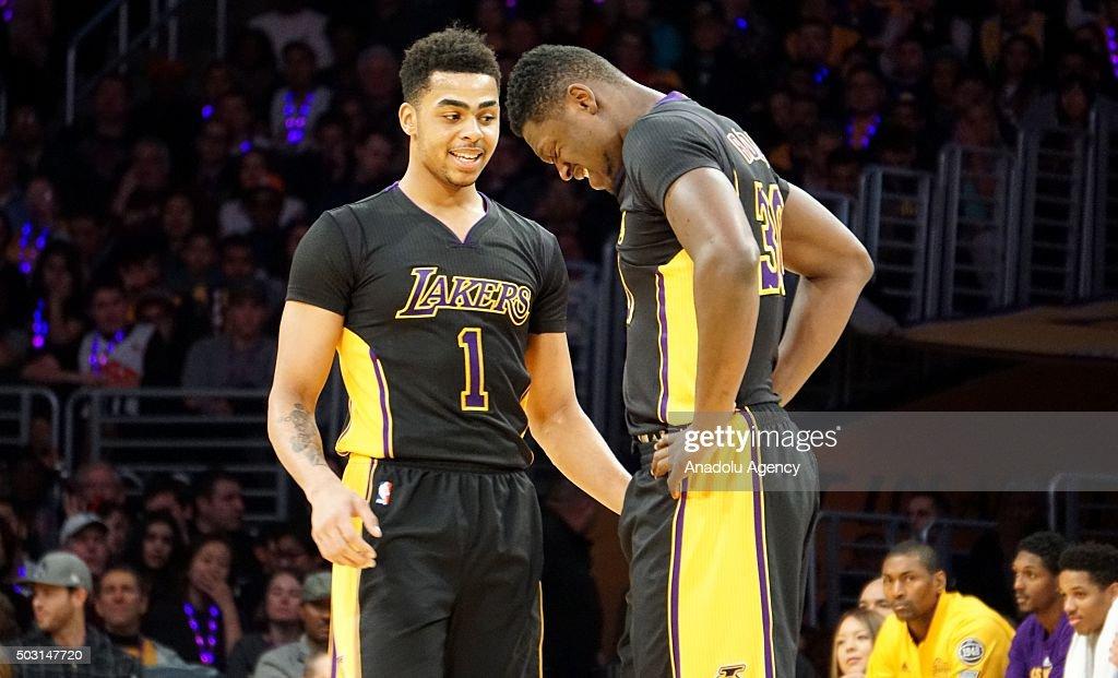 Lakers vs 76ers: NBA : News Photo