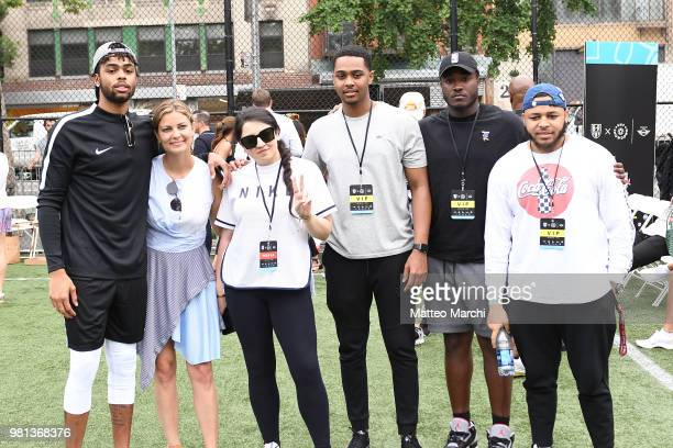 Angelo Russell attends the 2018 Steve Nash Showdown on June 20 2018 in New York City