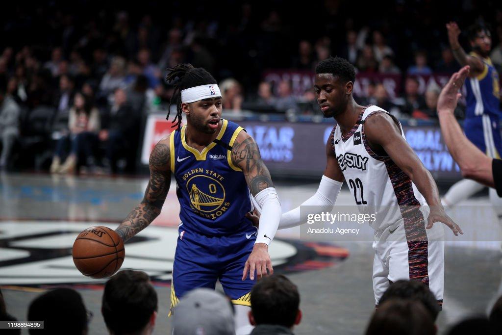 Brooklyn Nets vs Golden State Warriors : NBA : News Photo