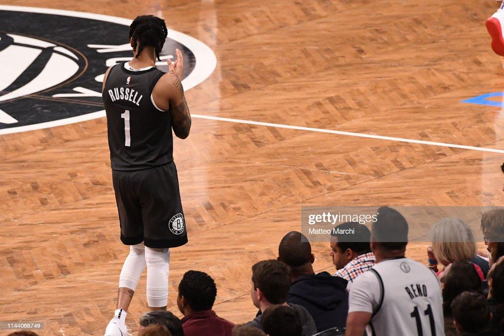 Philadelphia 76ers v Brooklyn Nets - Game Four : News Photo