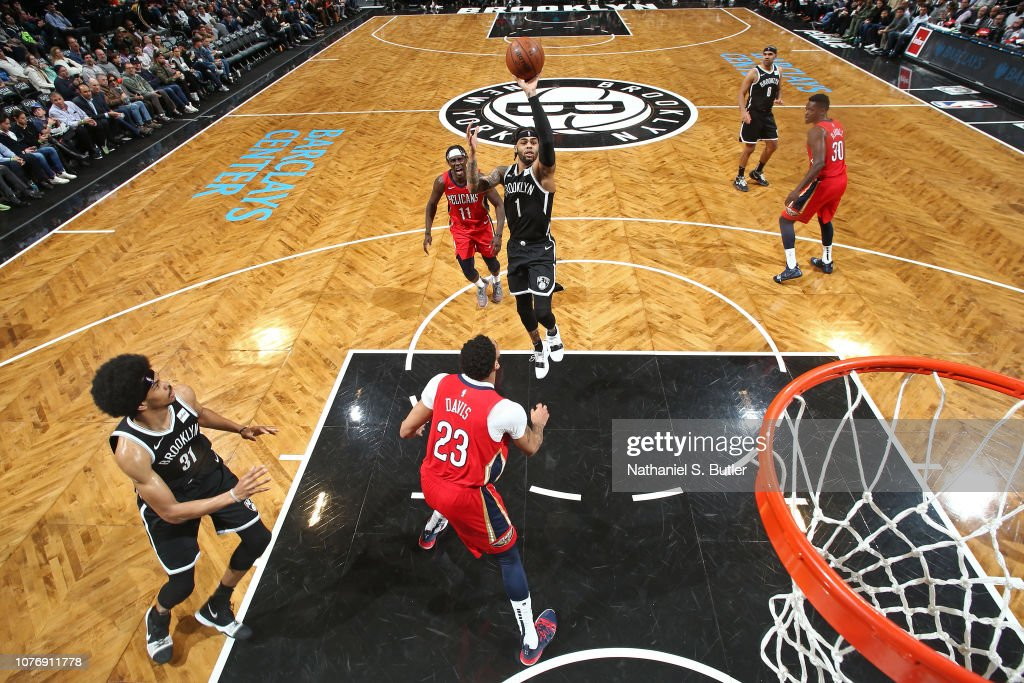 New Orleans Pelicans v Brooklyn Nets : News Photo