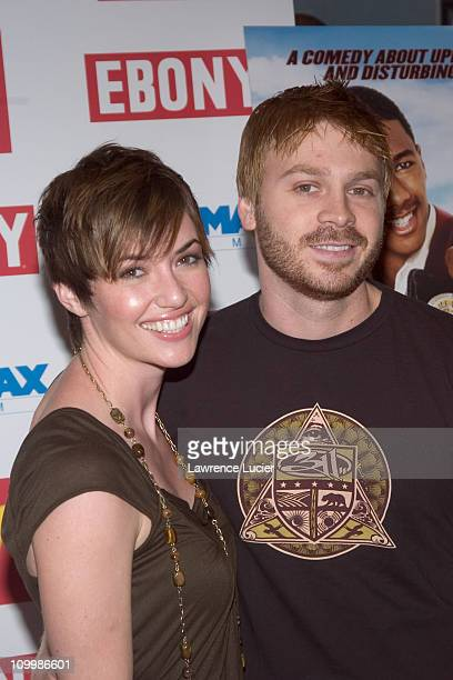 Angelo Spizzirri and wife during Underclassman New York City Premiere at Chelsea West in New York City New York United States