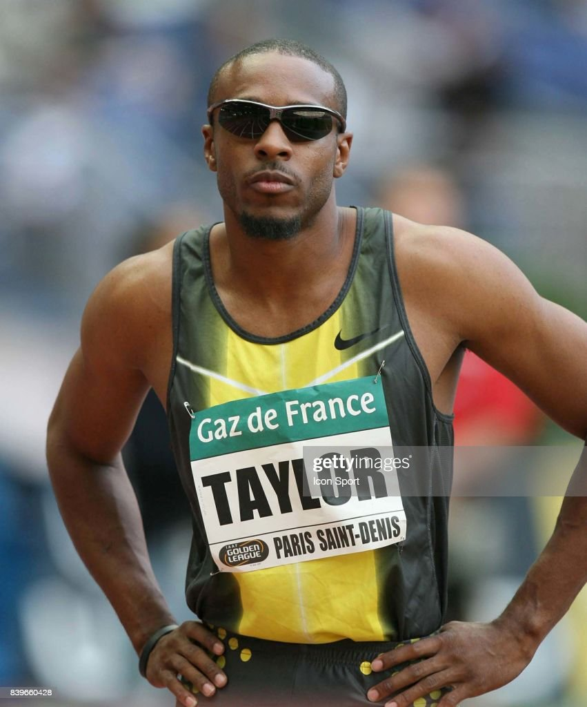 Angelo TAYLOR - 400m haies - - Meeting Gaz de France Paris St Denis 2007 - Golden League 2007 - Stade de France - Paris -