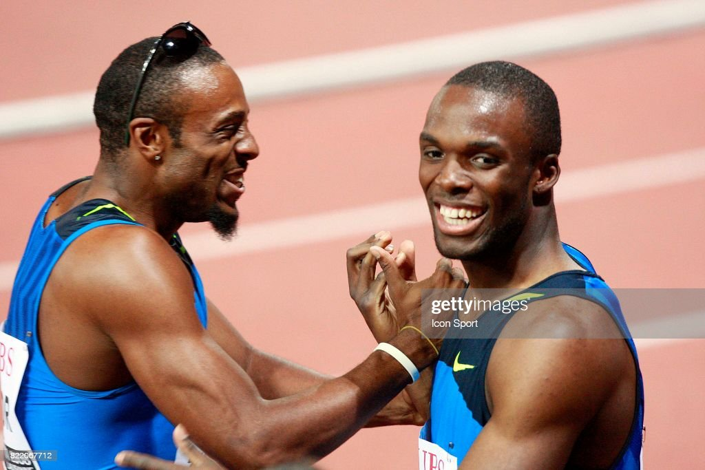 Angelo TAYLOR / Lashawn MERRITT - - 400m - Meeting de Lausanne - Super Grand Prix,