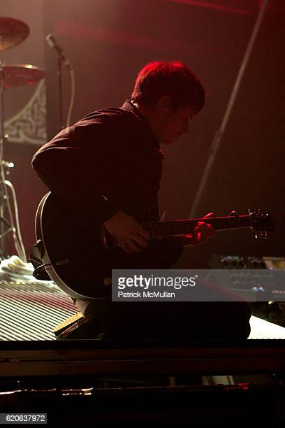Angels and Airwaves attends Guitar Center's DrumOff Grand Championship Competition at The Music Box Theater on January 5 2008 in Hollywood CA