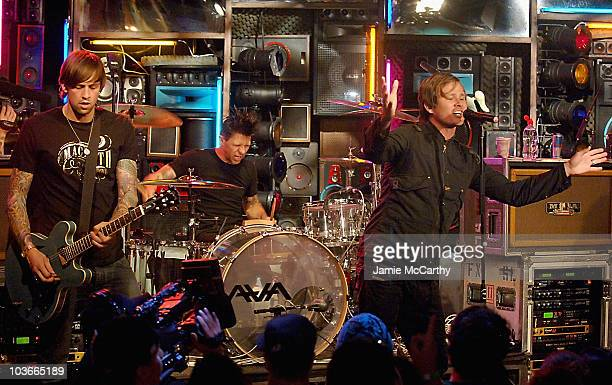 Angels and Airwaves Visits fuse's 'The Sauce at Fuse Studios in New York October 42007