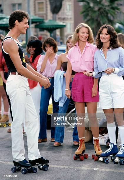 S ANGELS 'Angels on Skates' airdate 11/21/79 season 4 unknown actor Shelley Hack Jaclyn Smith