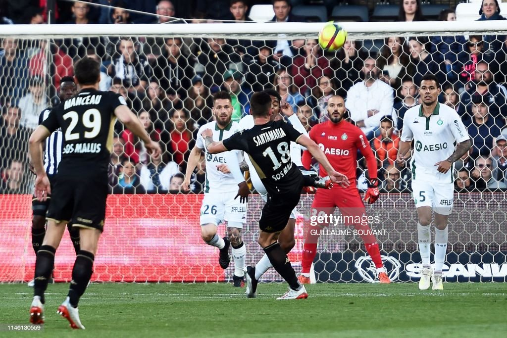 FRA: Angers SCO v AS Saint-Etienne - Ligue 1