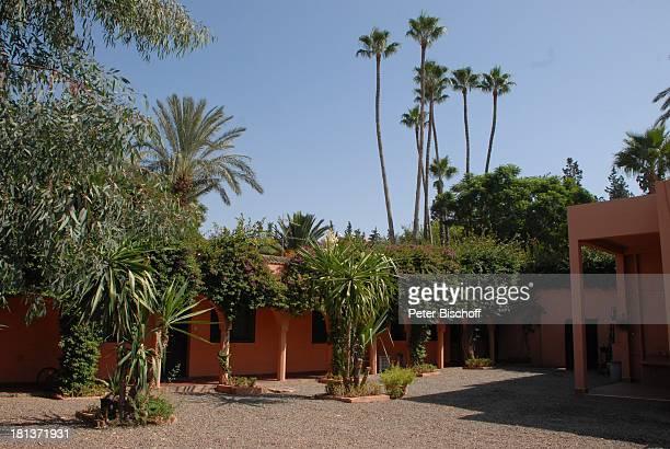 AngestelltenHaus der Villa von Henriette von Bohlen und Halbach Homestory Villa Bled Targui Marrakesch Marokko Nordafrika Afrika Residenz Palast Adel...