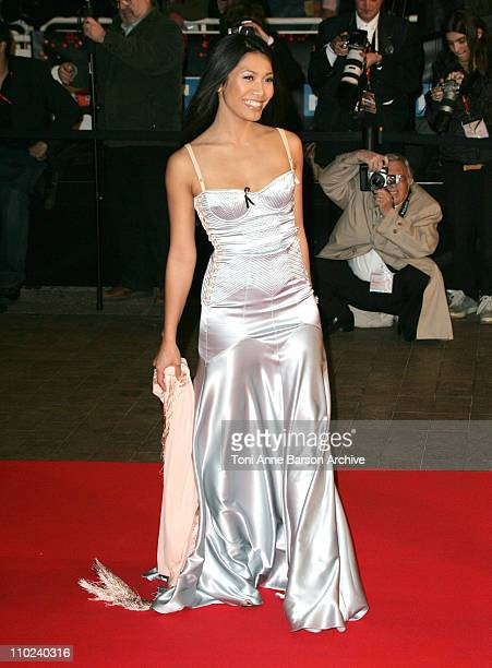 Anggun during 2005 NRJ Music Awards Arrivals at Palais des festivals in Cannes France