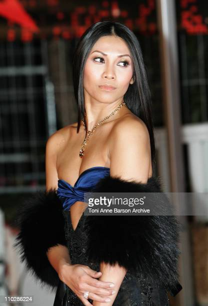 Anggun during 2006 NRJ Music Awards Arrivals at Palais des Festivals in Cannes France