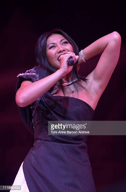 Anggun during Bal de L'Ete 2002 Anggun Performing at MonteCarlo Sporting Club in MonteCarlo Monaco