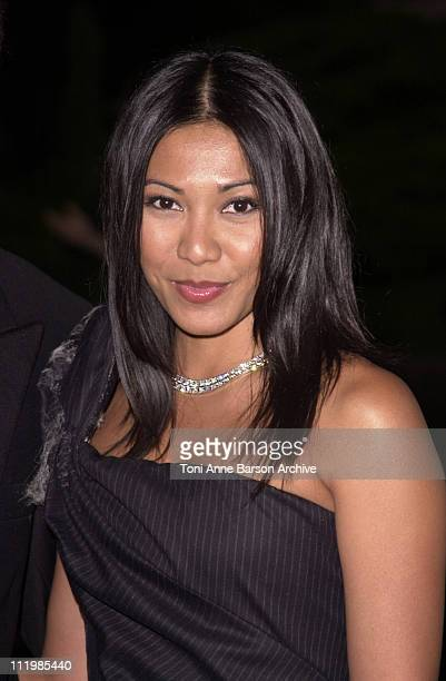 Anggun during Bal de L'Ete 2002 Arrivals Inside at MonteCarlo Sporting Club in MonteCarlo Monaco
