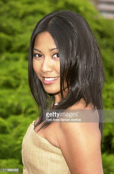 Anggun during Bal de L'Ete 2002 Photo Call at MonteCarlo Sporting Club in MonteCarlo Monaco