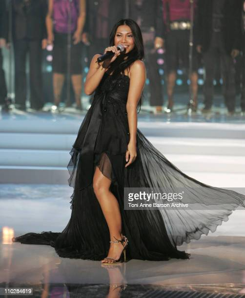 Anggun during 'La Fete de la Chanson Francaise' Taping January 11 2006 at Zenith in Paris France