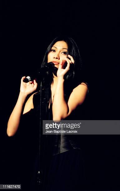 Anggun during MIDEM 2003 Gaia Concert at Palais des Festivals in Cannes France