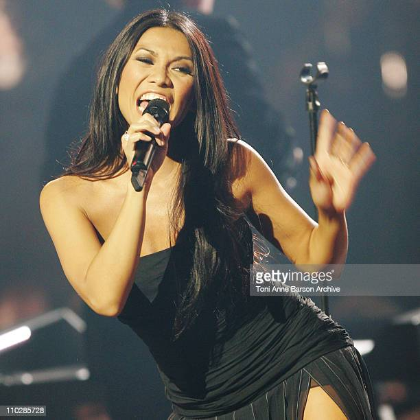Anggun during 'The 2006 Night of The Proms' at Nikaia in Nice France