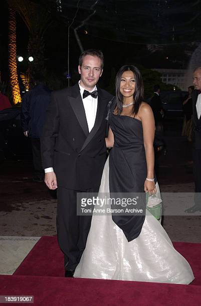 Anggun Olivier Maury during Bal de L'Ete 2002 Arrivals Inside at MonteCarlo Sporting Club in MonteCarlo Monaco