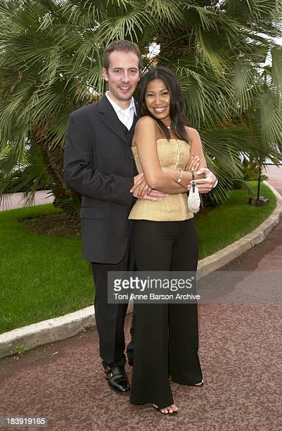 Anggun Olivier Maury during Bal de L'Ete 2002 Photo Call at MonteCarlo Sporting Club in MonteCarlo Monaco