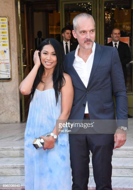 AnggunOlivier Maury attend Amnesty International 'Musique Contre L'Oubli' Gala Ceremony at Theatre des Champs Elysees on June14 2017 in Paris France