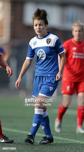 Angharad James of Bristol Academy Women FC in action during the FA WSL 1 match between Liverpool Ladies FC and Bristol Academy Women FC at the Select...