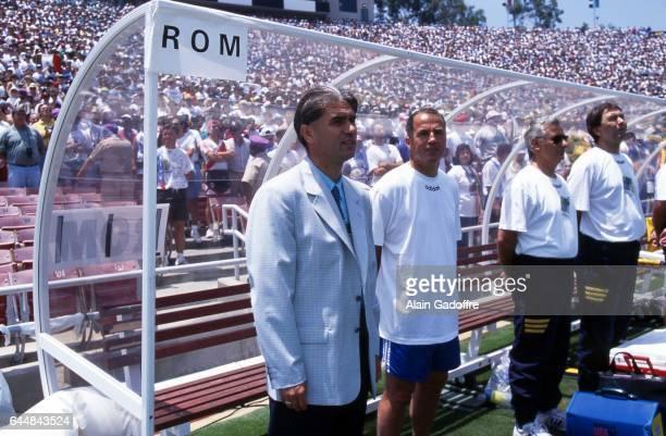 Anghel Iordanescu Argentine / Roumanie 1/8emeFinale Coupe du Monde 1994 Photo Alain Gadoffre / Icon Sport
