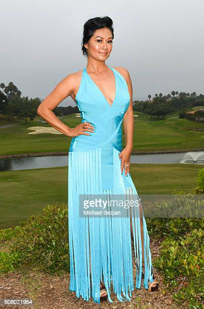 Angie Adamo attends All About the Animals Homeless to Haute Gala at Monarch Beach Resort on September 18, 2016 in Dana Point, California.