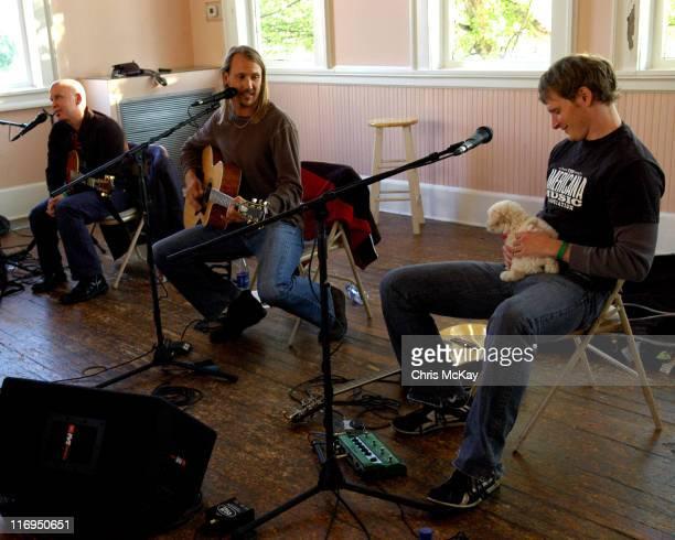 Angie Aparo Jim Soni Sonefeld of Hootie and the Blowfish and Patrick Davis