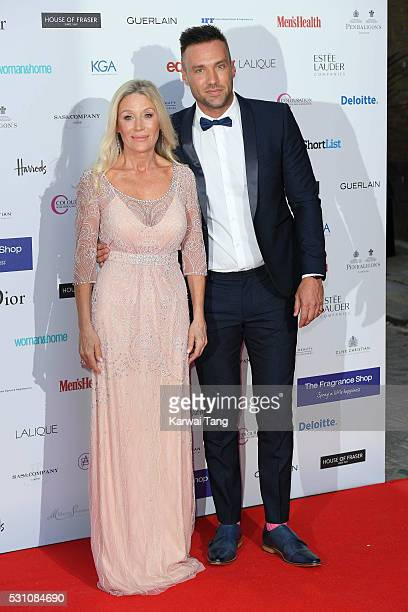 Angie Best and Calum Best attend the Fragrance Foundation Awards at The Brewery on May 12 2016 in London England