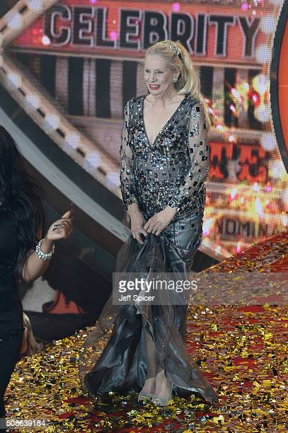 Angie Bowie at the final of Celebrity Big Brother at Elstree Studios on February 5 2016 in Borehamwood England