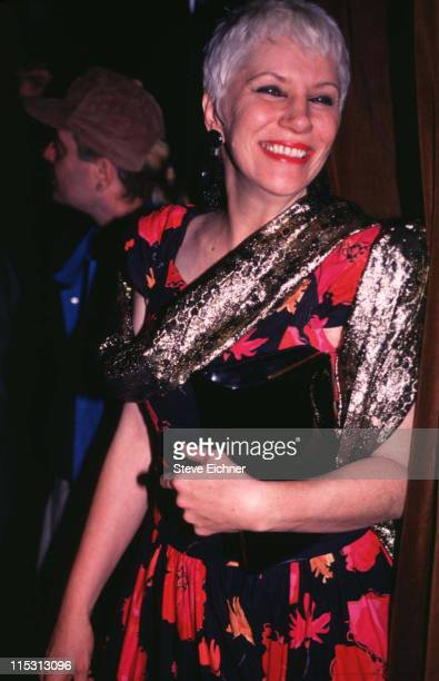 Angie Bowie during Angie Bowie at Club USA 1994 at Club USA in New York City New York United States