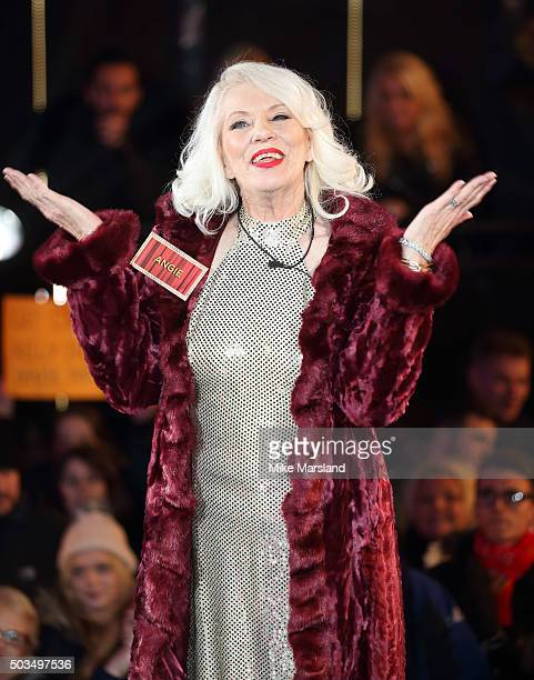 Angie Bowie Mourns Ex David Bowie on 'Celebrity Big Brother'